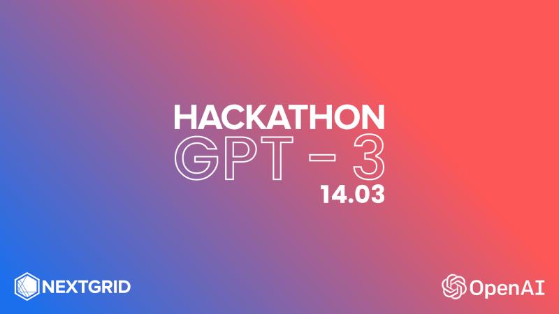 GPT-3 Hackathon, 13.03.2021