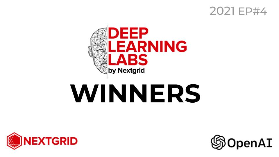 Deep Learning Labs #4 2021